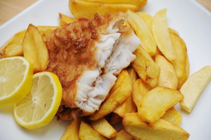 Fast Food Fish And Chips Angleterre