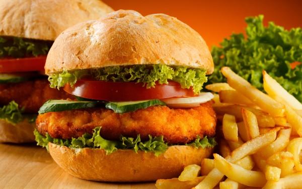 Hamburger & Chips